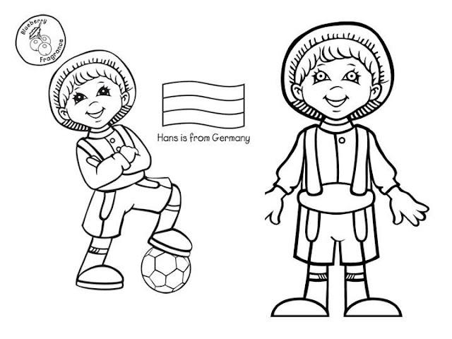 NiÑos Del Mundo Para Colorear: PINTAR NIÑOS DEL MUNDO