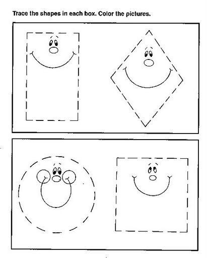 Formas Geometricas Fichas Para Niños Formas Geometricas