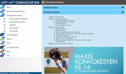 玩教育App UTP Convocation 2014免費 APP試玩