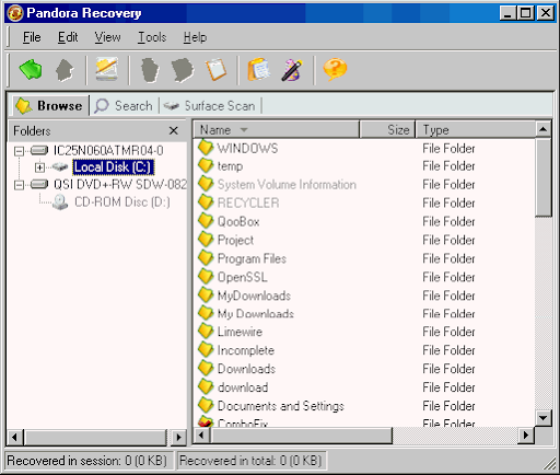 panda recovery Top 10 FREE Data Recovery Software