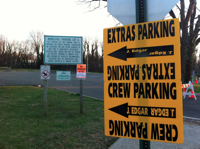 J. Edgar parking sign