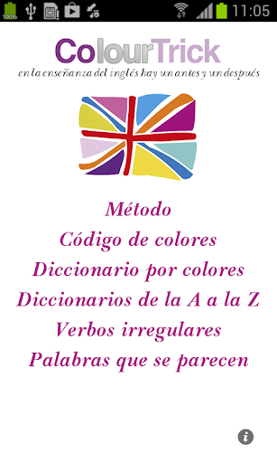 Aprendo Inglés con Colourtrick