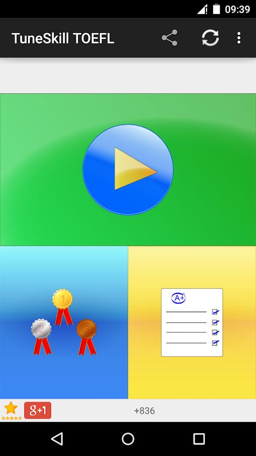 TuneSkill TOEFL® - screenshot