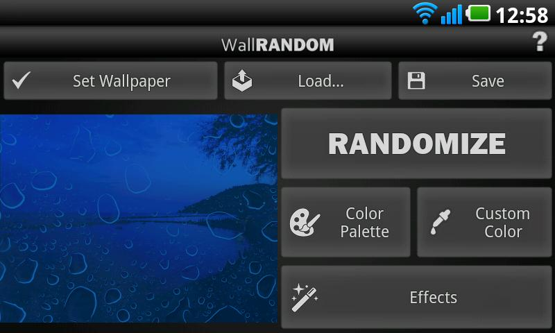 WallRANDOM Pro - screenshot