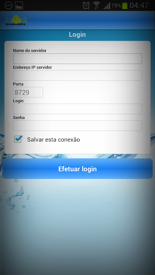 MikroBOX (Winbox - Mikrotik) - screenshot