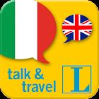 Italian talk&travel icon