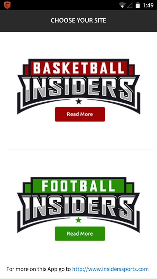 Insiders Sports- screenshot