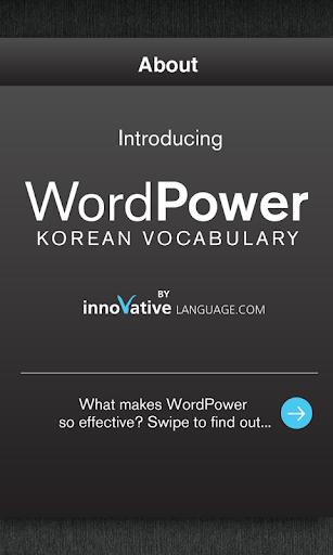 Learn Korean WordPower