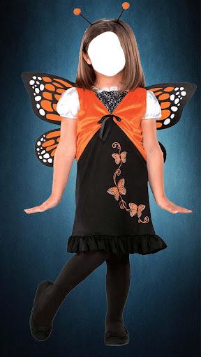 女孩种服装时尚图片编辑器