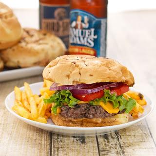 Juicy Pub-Style Burgers.
