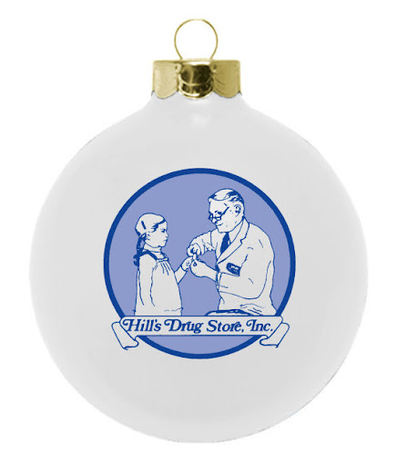 Company Logo Christmas Ornaments