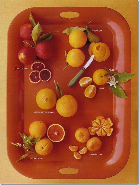 oranges via Eddie Ross