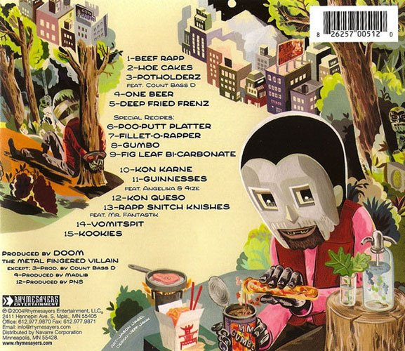 The Cover Up » MF Doom – Mm  Food
