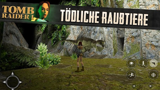 Tomb Raider I Screenshot
