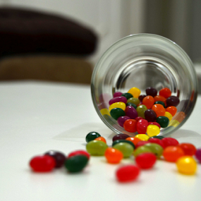 Jellybeans by Rodolfo Dela Cruz - Food & Drink Candy & Dessert ( colors, candies, glass, jellybean, dessert )