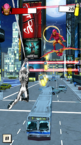 android Spider-Man Unlimited Screenshot 5