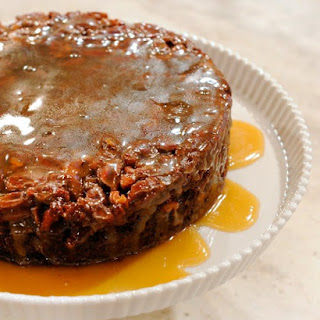 Upside-Down Sticky Toffee Pudding.