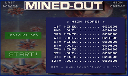 Mined-Out