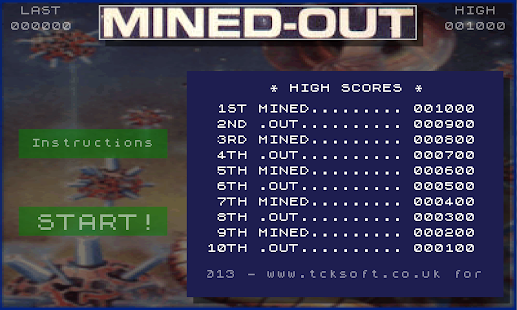 Mined-Out!- screenshot thumbnail