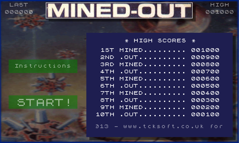 Mined-Out!- screenshot
