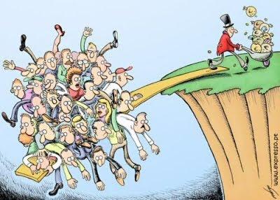Kloof tussen rijk en arm groeit fors in Amerika