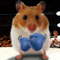 Funny Hamster Cracked Screen icon