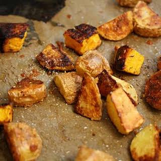 Parmesan-Roasted Butternut Squash & Potatoes.