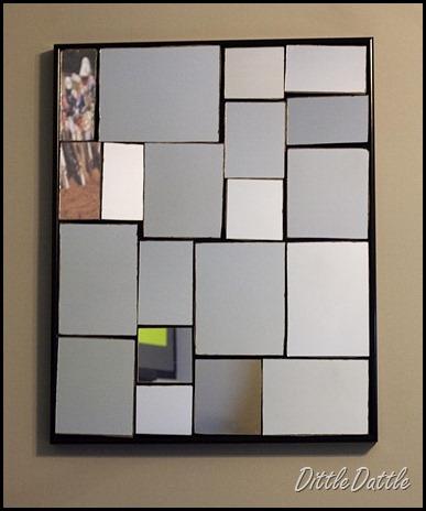 Broken Mirror collage wall art