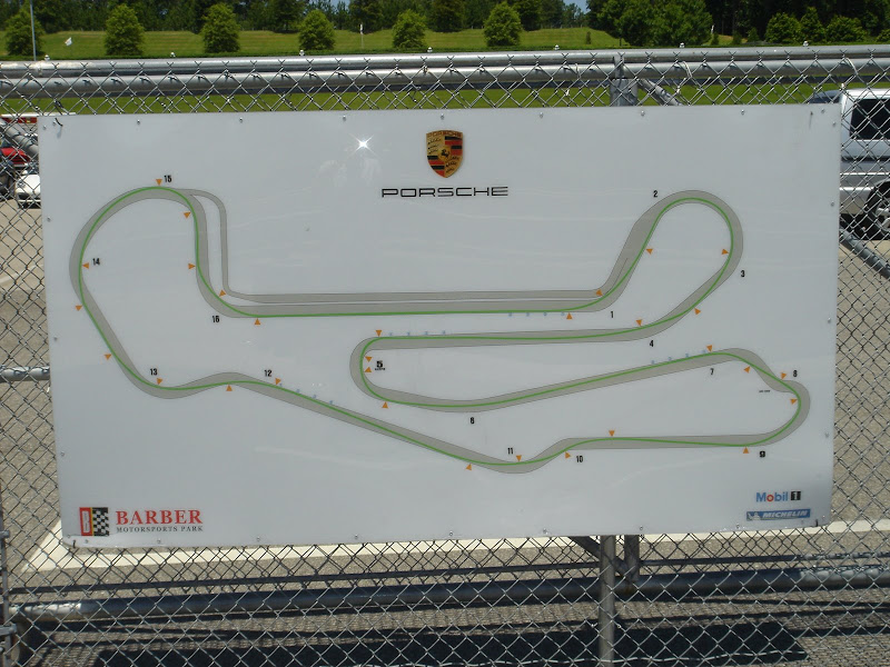 The line at Barber Motorsports part
