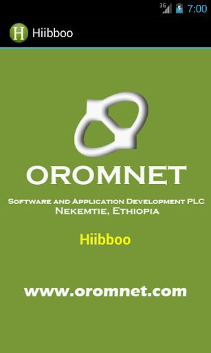 HIIBBOO Hibib Afan Oromoo