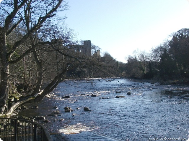 River Tees at Barnard Castle