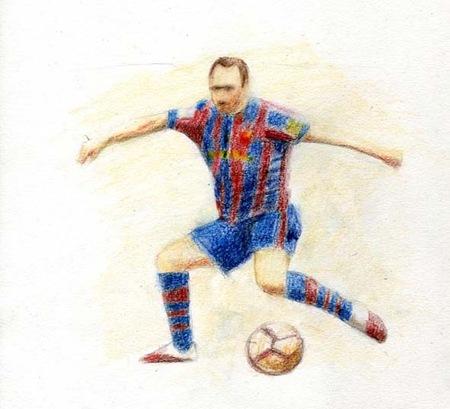 Fussballer Zeichnen