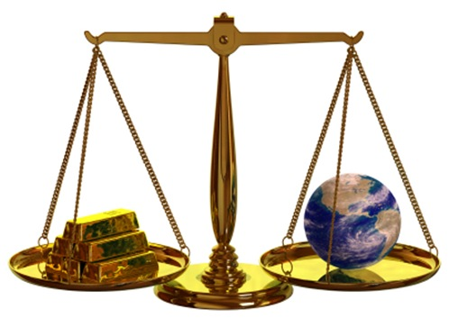 Balancing Money and the Earth