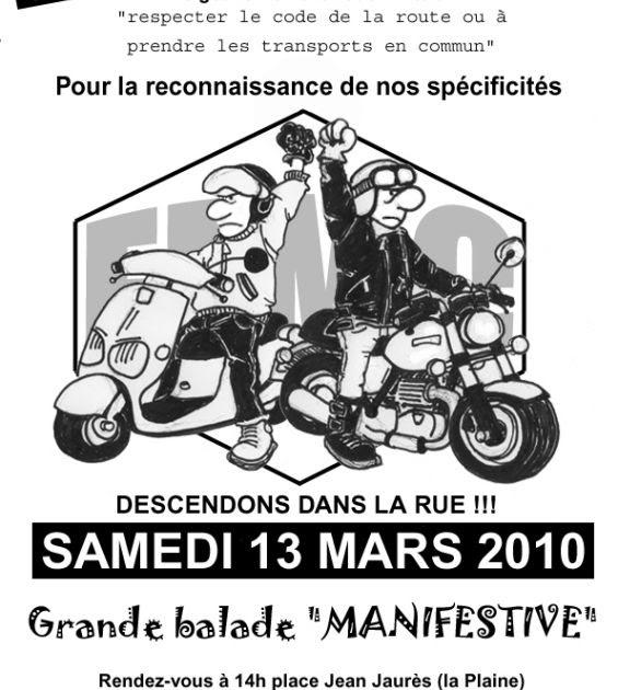 manifestation des motards en col re marseille le 13 mars. Black Bedroom Furniture Sets. Home Design Ideas
