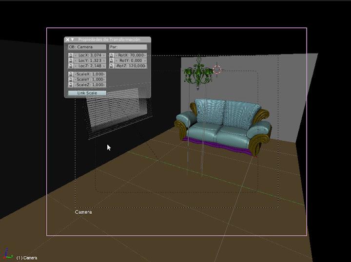 Interiores con Blender y Yafaray