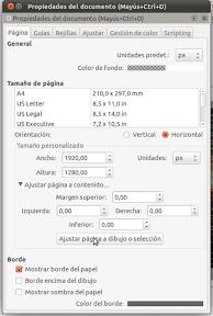 Pantallazo-Propiedades del documento (Mayús+Ctrl+D)