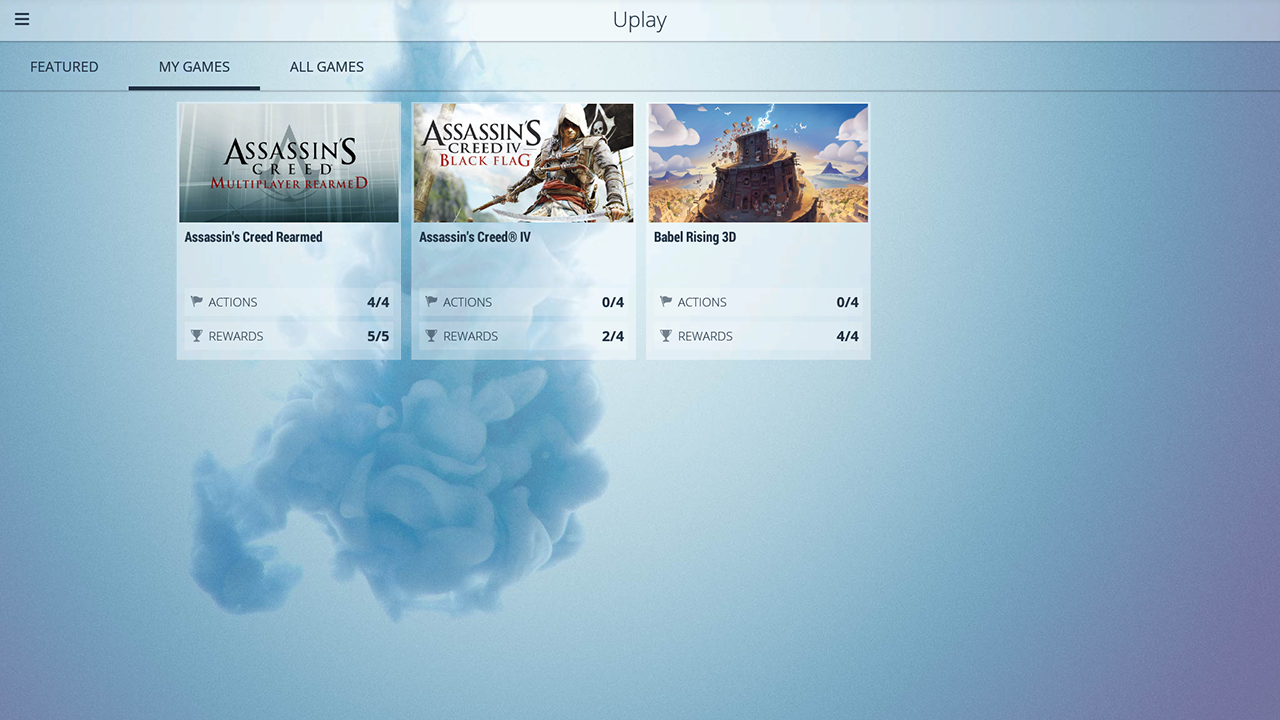 Uplay - screenshot