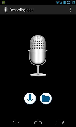 录音应用程式