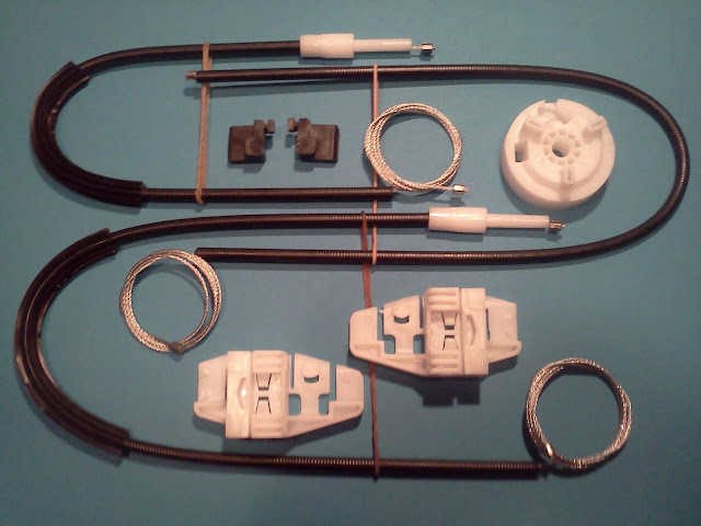kit reparation guidage leve vitre megane 2 ii avant droit 2002 2009. Black Bedroom Furniture Sets. Home Design Ideas