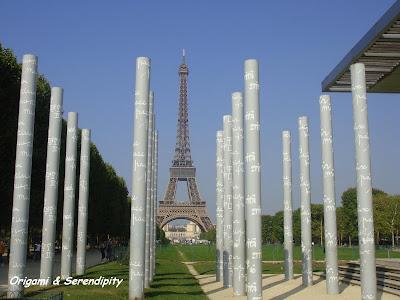 Muro por la Paz, Tour Eiffel, París, Elisa N, Blog de Viajes, Lifestyle, Travel