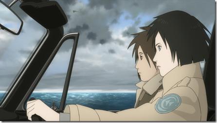Кабриолет, море... почти романтика