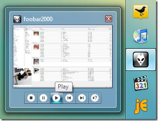 foobar2000 в Windows 7