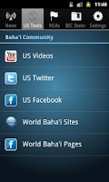 Screenshot of Baha'i News Service US (Bahai)