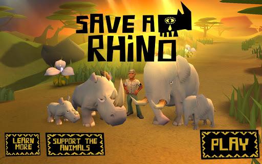 【免費冒險App】Save a Rhino-APP點子