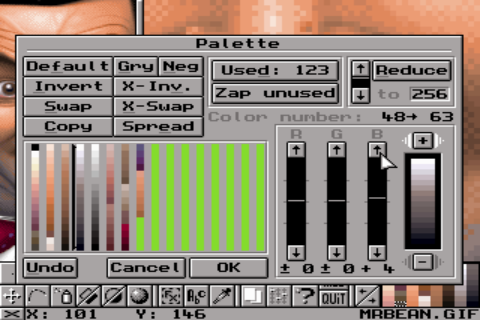 GrafX2- screenshot