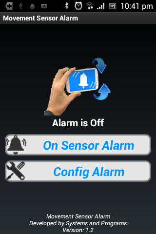 Alarma Sensor Movimiento