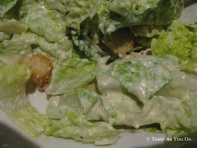 Caesar Salad at Parkside Grill in Knoxville, TN - Photo by Taste As You Go