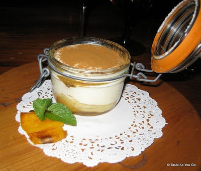 Persimmon Tiramisu - Photo by Taste As You Go