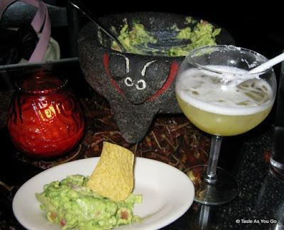 Chips, Guacamole, and Margarita at Tacocina in New York, NY - Photo by Taste As You Go