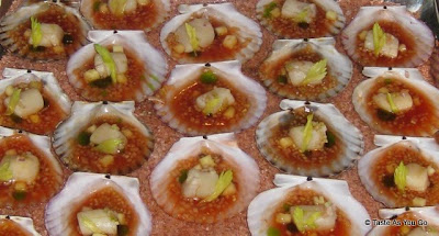 Scallop Ceviche at the Foodbuzz Cocktail Party at David Burke Townhouse | Taste As You Go